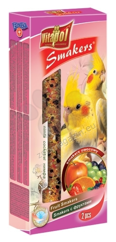 Valkparkiet fruit kracker