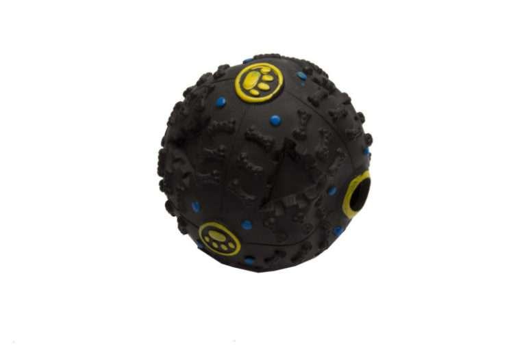 Beloningsbal-met geluid-vinyl-12 cm-hondenspeeltjes