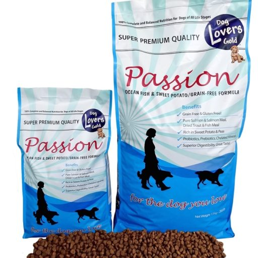 Dog Lovers Gold- Passion fish & sweet potato- 5 kilo-hondenvoer