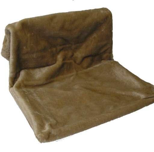 Radiatorenhangmat bruin