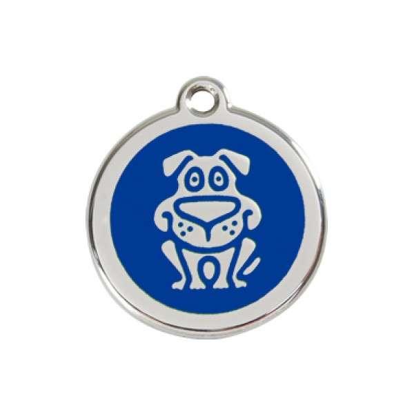 Hond blauw