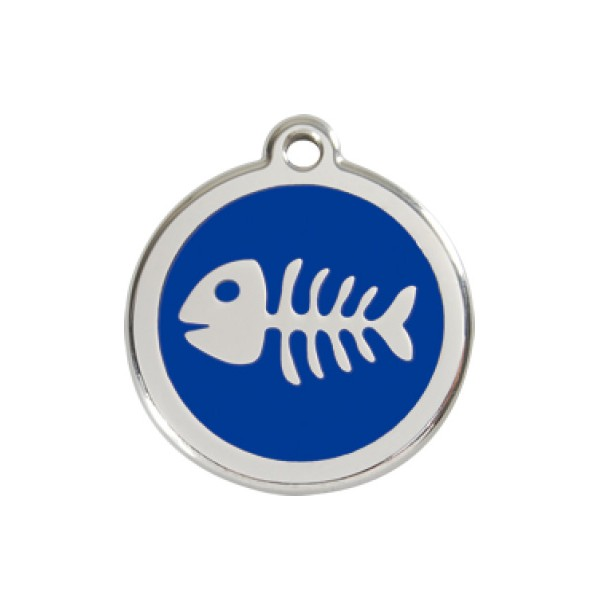 Vissengraat blauw