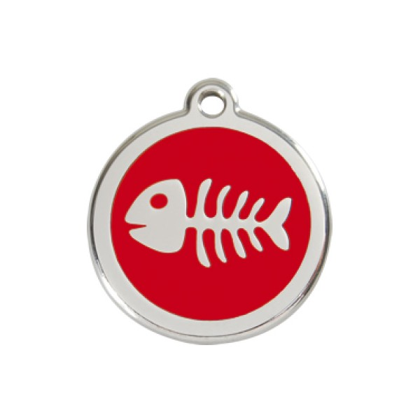 Vissengraat rood