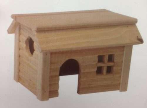 Knaagdier huis 38 cm x 22 cm x 28 cm