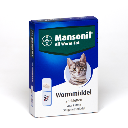 Mansonil all worm cat 2T ellipsoid