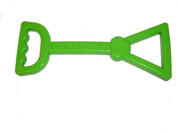 Honden trekspeeltje groen 23 cm x 9 cm