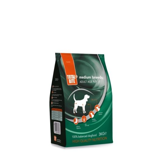 Total Bite Dog- adult medium- 3 kilo-hondenbrokken