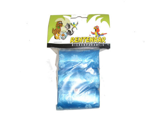 hondenpoepzakjes blauw