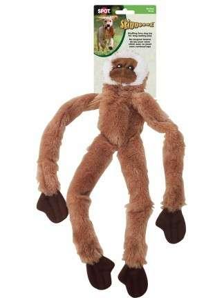 Skinneeez - aap - 40 cm - hondenspeelgoed