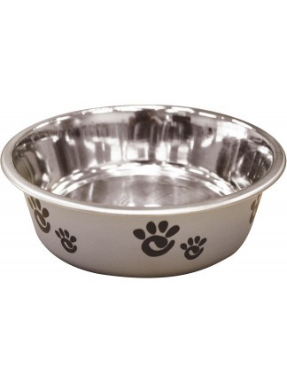 Kattenvoerbakje barcelona zilver