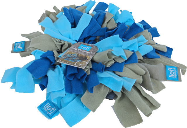 lief snuffelmat blauw